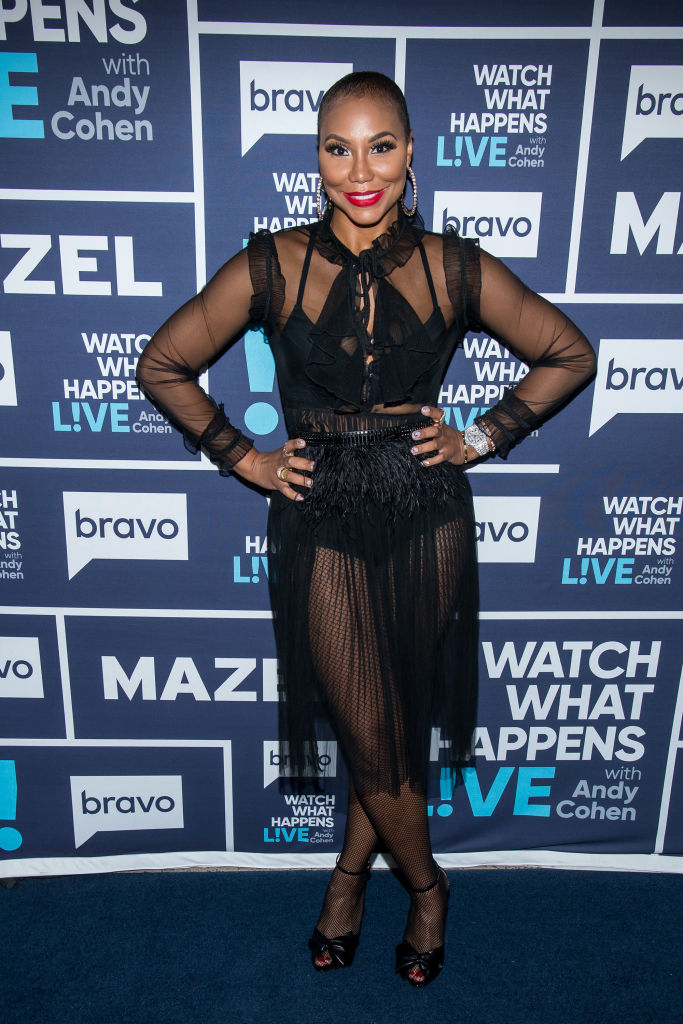 TAMAR BRAXTON AT WATCH WHAT HAPPENS LIVE WITH ANDY COHEN, 2018