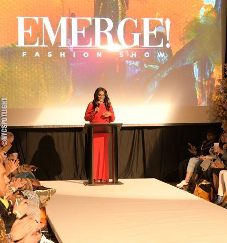 Danielle James Hosts Emerge! Fashion Show