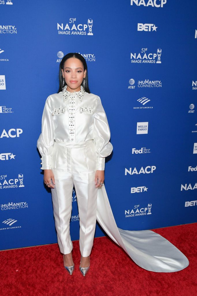 BIANCA LAWSON AT THE 51ST NAACP IMAGE AWARDS, 2020