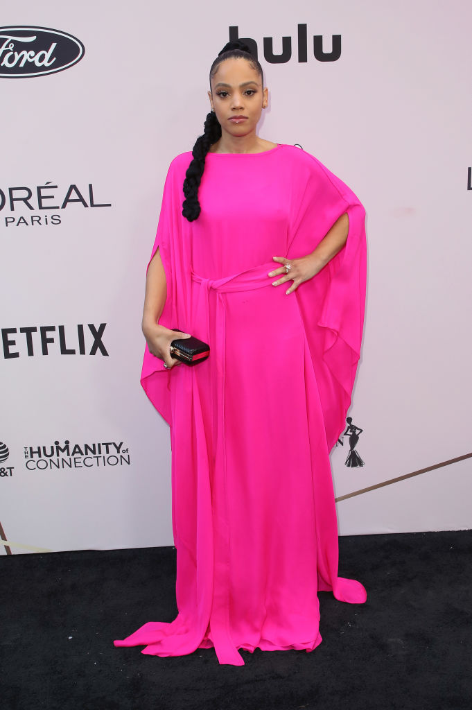 BIANCA LAWSON AT THE 13TH ANNUAL ESSENCE BLACK WOMEN IN HOLLYWOOD AWARDS LUNCHEON, 2020