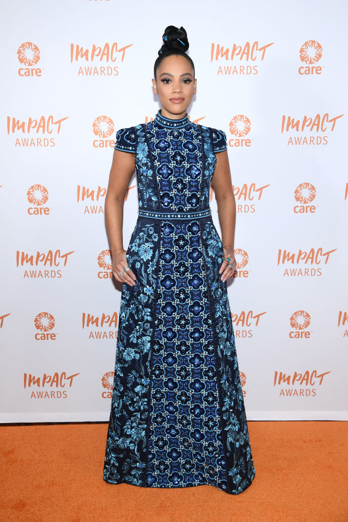 BIANCA LAWSON AT THE 2ND ANNUAL CARE IMPACT AWARDS DINNER, 2019