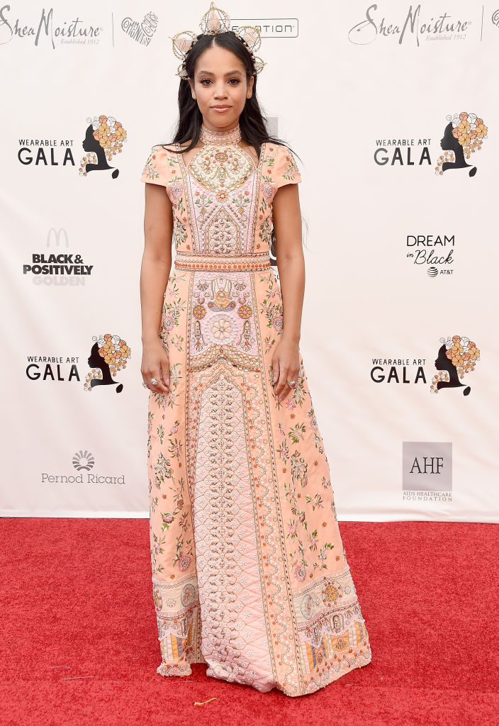 BIANCA LAWSON AT WACO THEATER CENTER'S 3RD ANNUAL WEARABLE ART GALA, 2019