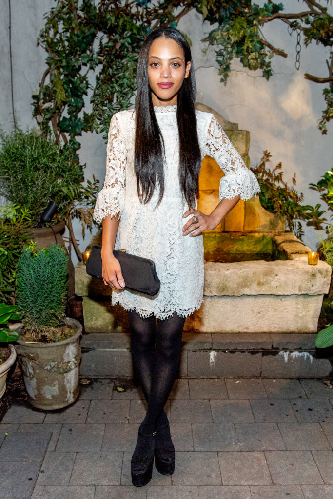 "BIANCA LAWSON AT THE ""QUEEN SUGAR"" GARDEN COCKTAIL PARTY, 2018"