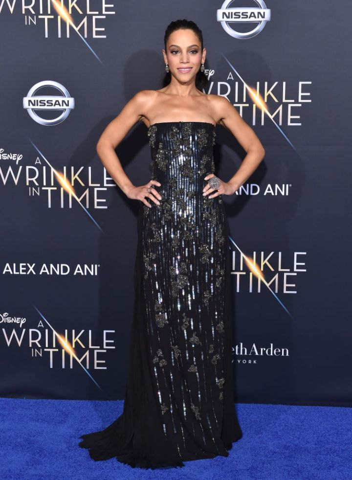 "BIANCA LAWSON AT THE PREMIERE OF DISNEY'S ""A WRINKLE IN TIME"", 2018"