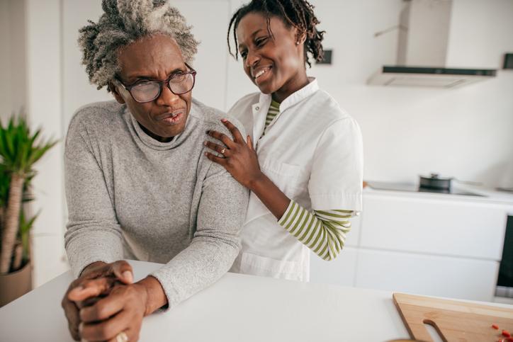 Home caregiver assistance
