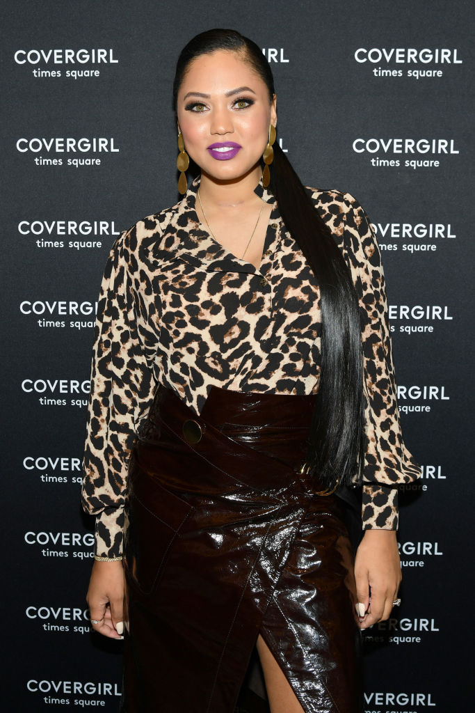 AYESHA CURRY AT COVERGIRL'S FLAGSHIP STORE OPENING, 2018