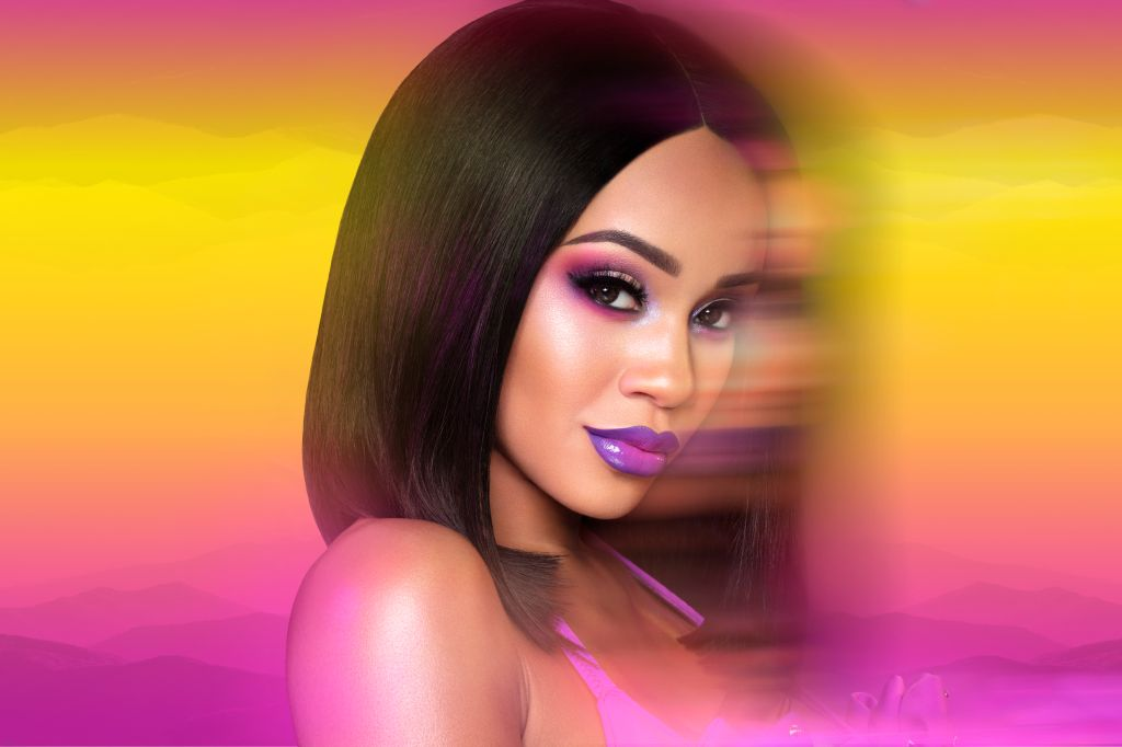 Backstage with Saweetie