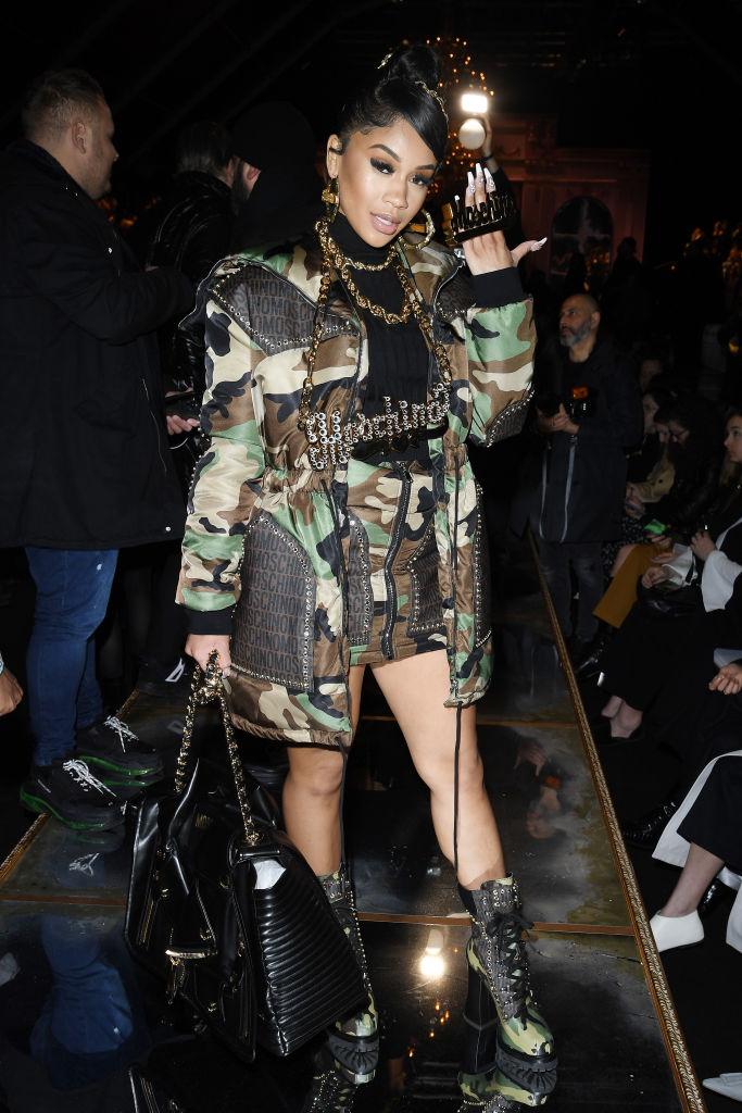 Moschino - Arrivals - Milan Fashion Week Fall/Winter 2020-2021