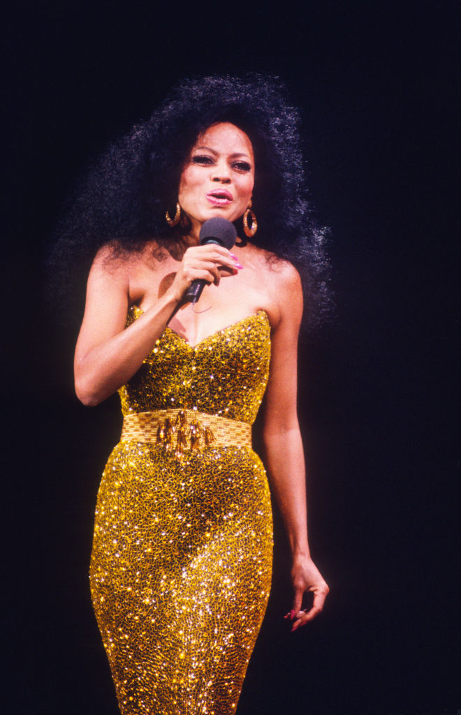 DIANA ROSS PERFORMING IN BRUSSELS, 1991