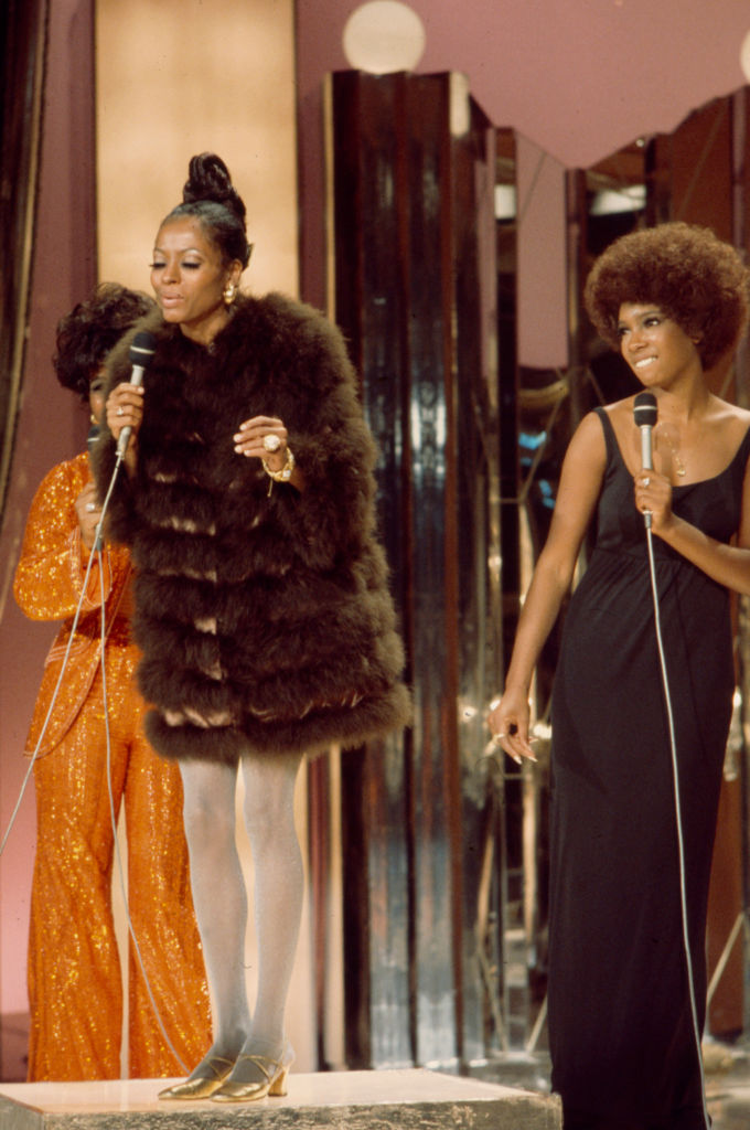 DIANA ROSS AT THE SUPREMES ON 'THE PEARL BAILEY SHOW', 1971