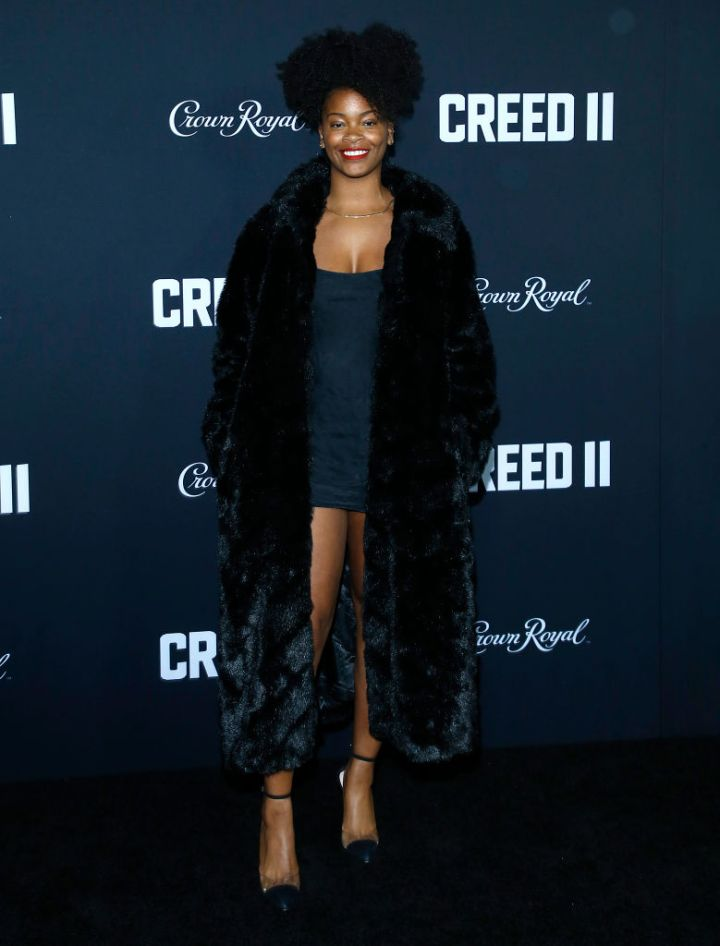 "ARI LENNOX AT ""CREED II"" NYC PREMIERE, 2018"