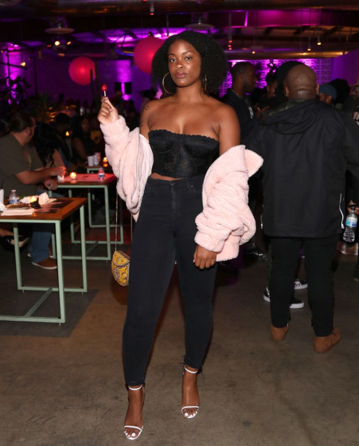 ARI LENNOX AT ELLA MAI'S ALBUM RELEASE EVENT, 2018