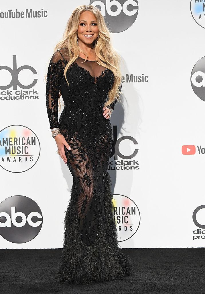 MARIAH CAREY AT THE AMERICAN MUSIC AWARDS, 2018
