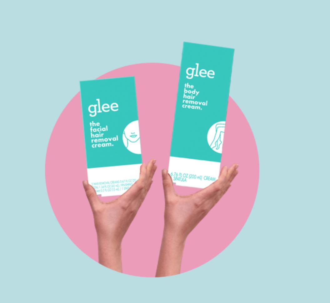glee hair removal cream