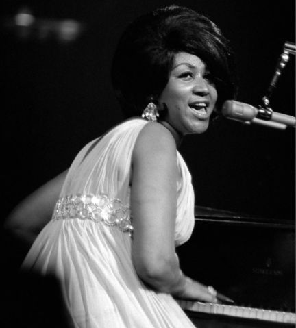 Aretha Franklin Performs At Madison Square Garden