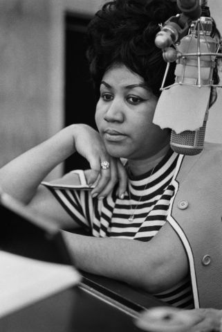 Recording of Aretha Franklin's Version of 'The Weight' At Atlantic Studios