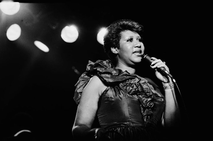 Aretha On Stage