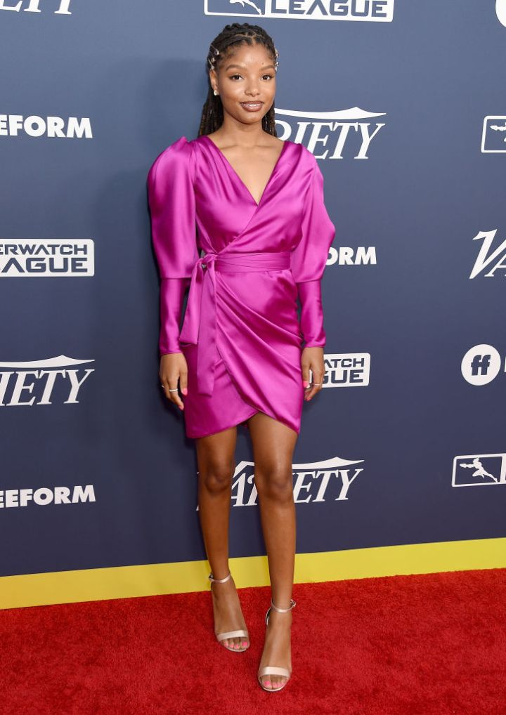 HALLE BAILEY AT VARIETY'S POWER OF YOUNG HOLLYWOOD EVENT, 2019