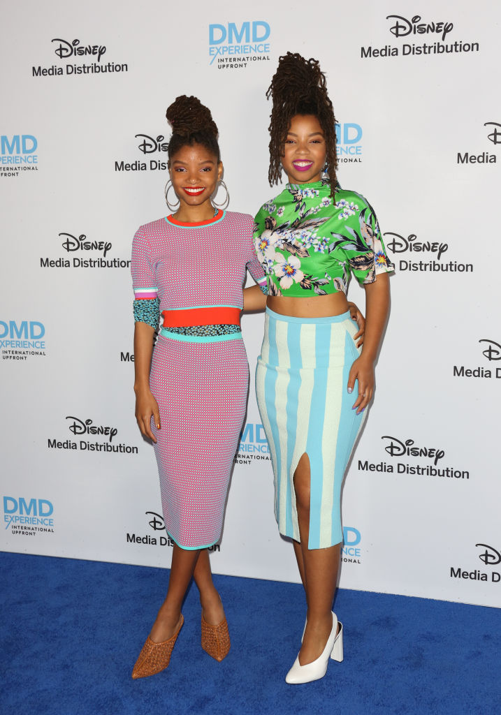 HALLE BAILEY AT THE DISNEY/ABC INTERNATIONAL UPFRONTS, 2018