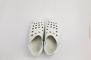 doctor´s clogs.White medical shoes