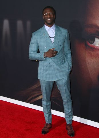 """Aldis Hodge attendsTthe premiere of """"The Invisible Man"""" in Los Angeles"""
