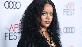 (FILE) Rihanna's Charity Donates $5 Million for Global Coronavirus COVID-19 Pandemic Relief. Rihanna...