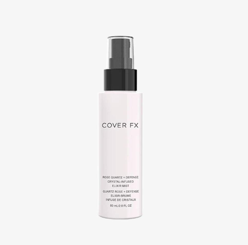 Cover FX's Rose Quartz Crystal-Infused Elixir Mist