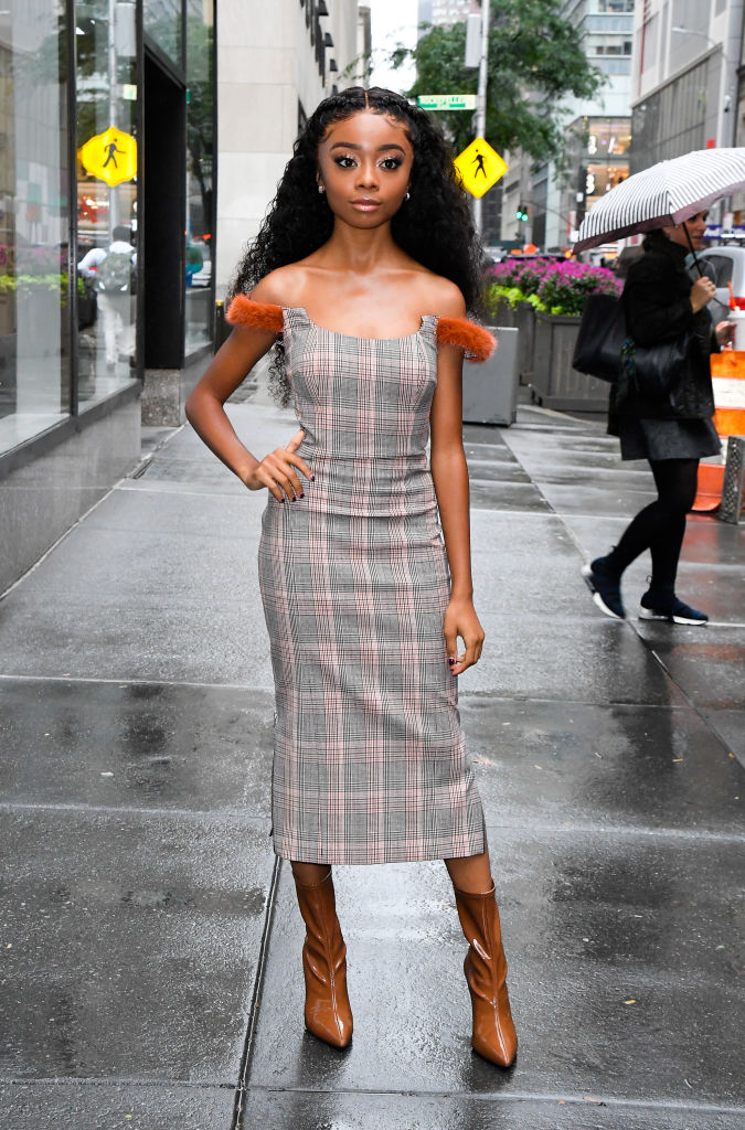SKAI JACKSON AT THE TODAY SHOW, 2019