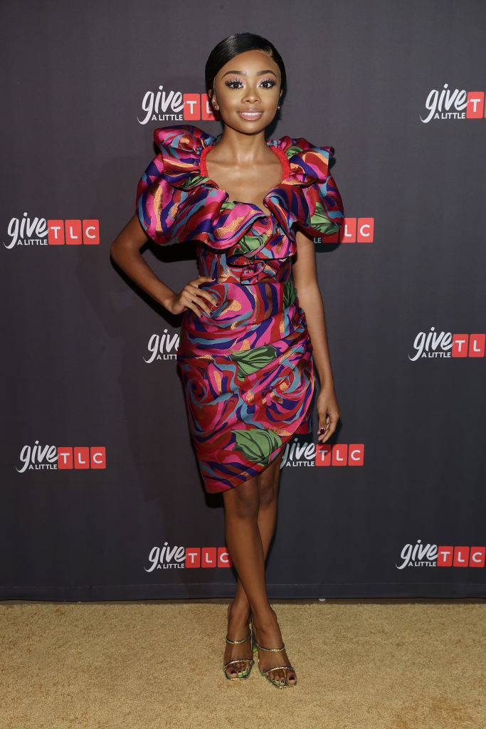 SKAI JACKSON AT TLC'S GIVE A LITTLE AWARDS, 2019