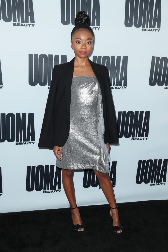 SKAI JACKSON AT THE HOUSE OF UOMA PRESENTS THE LAUNCH OF UOMA BEAUTY, 2019