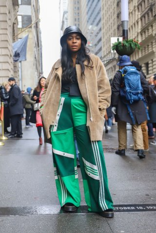 Street Style - New York Fashion Week February 2019 - Day 2