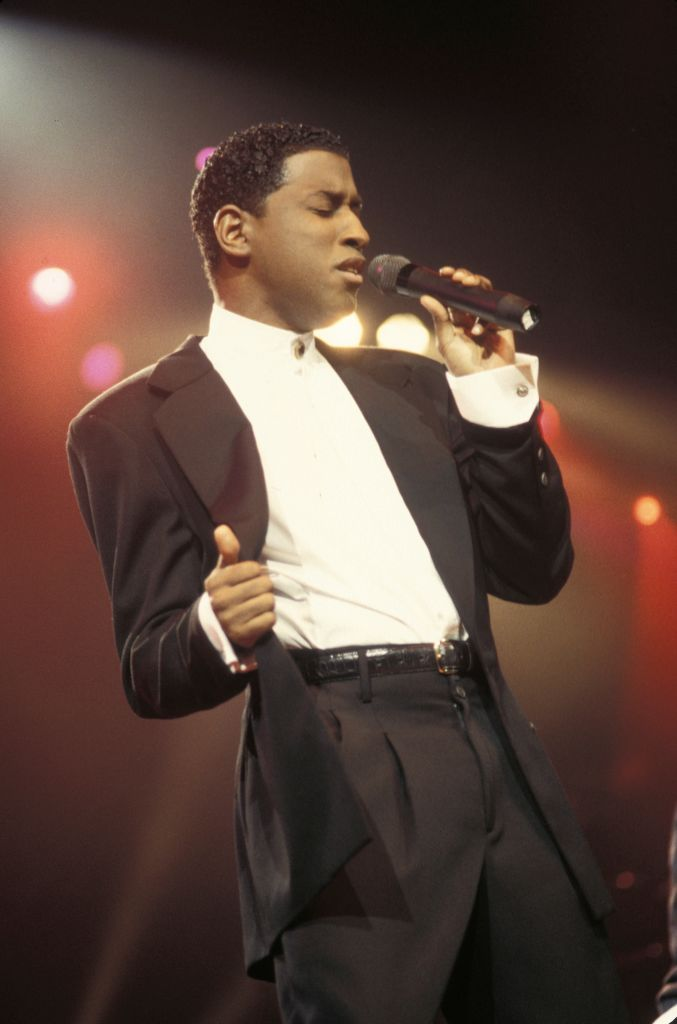 Babyface Performing In Concert