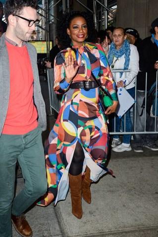 Celebrity Sightings in New York City - October 05, 2016
