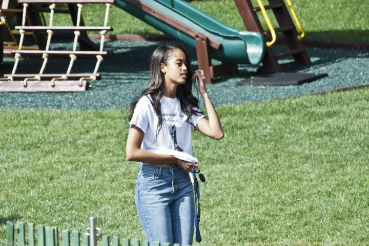 Malia Is Too Cool For School