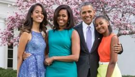 President Barack Obama and Family