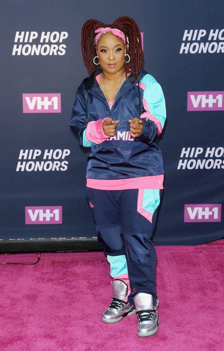 DA BRAT AT THE VH1 HIP HOP HONORS, 2016