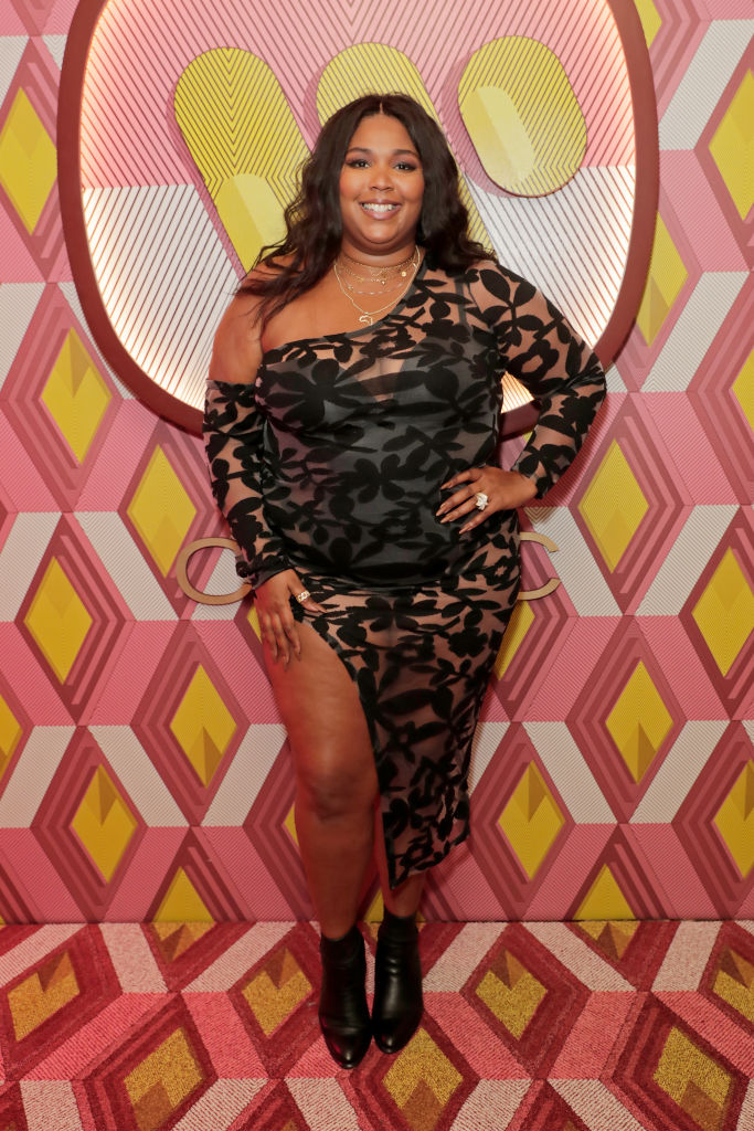 LIZZO AT WARNER MUSIC & CIROC BRIT'S AFTER PARTY, 2020