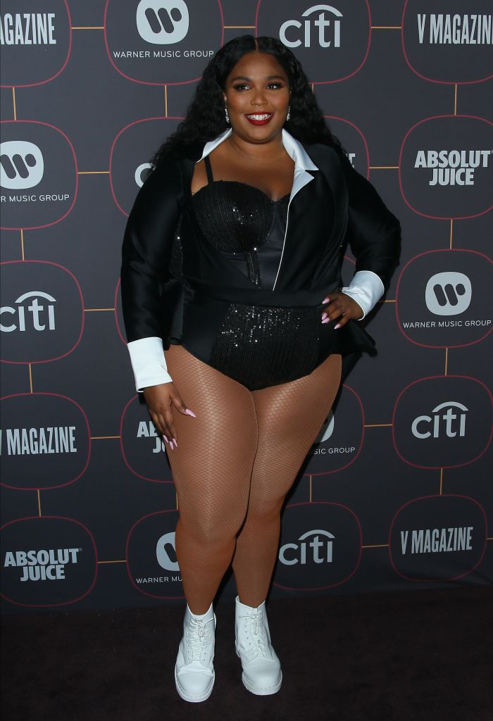 LIZZO AT THE WARNER MUSIC GROUP PRE-GRAMMY PARTY, 2020