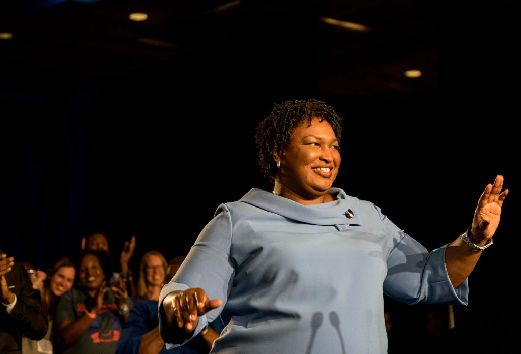 Former House Democratic Leader and Democratic nominee for Governor Stacey Abrams
