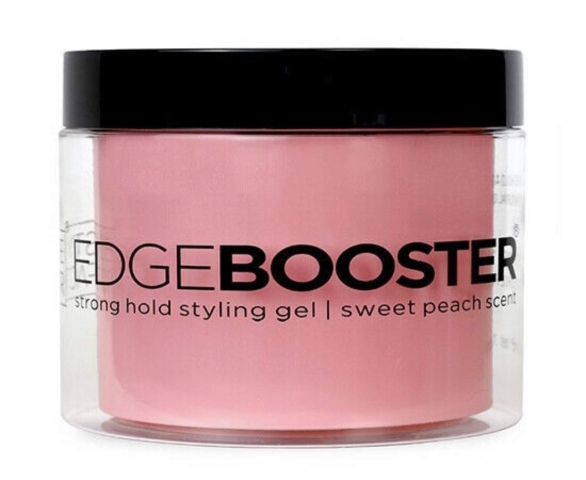 Style Factor Edge Booster Strong Hold Styling Gel, 16.9 Ounce (Sweet Peach)