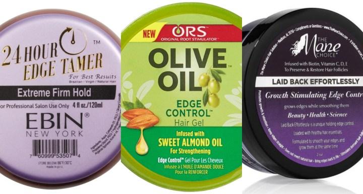 Edge Control Gel For 4c Hair