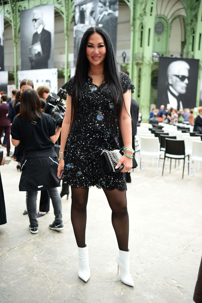 """KIMORA LEE SIMMONS AT THE """"KARL FOR EVER"""" EVENT AT LE GRAND PALAIS, 2019"""