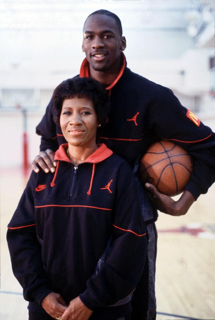 Michael Jordan And Deloris Jordan Appear On Superstars And Their Moms