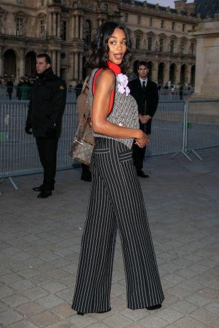 Louis Vuitton : Outside Arrivals - Paris Fashion Week Womenswear Fall/Winter 2020/2021