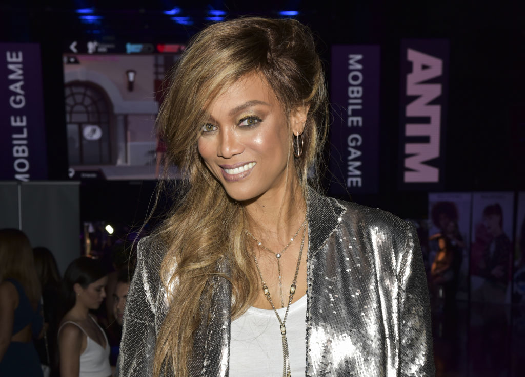 """Tyra Banks And Ace King Productions Celebrate The Release Of The """"America's Next Top Model"""" Mobile Game - Inside"""