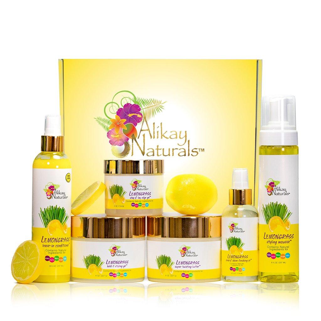 Alikay Naturals' Lemongrass Collection