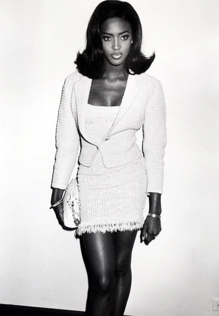 NAOMI CAMPBELL AT HER 20TH BIRTHDAY PARTY, 1990
