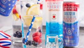 Hard Smirnoff Seltzer Red, White & Berry