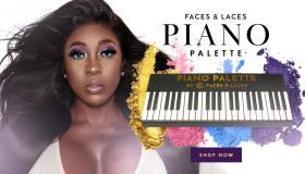 Spice Faces & Laces Piano Make Up Palette