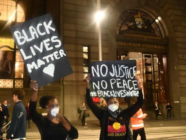 Demonstration For George Floyd In Sydney